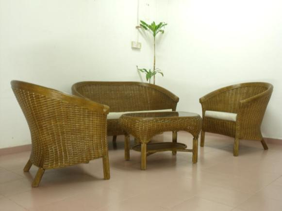 Emperor Wicker Sofa Set
