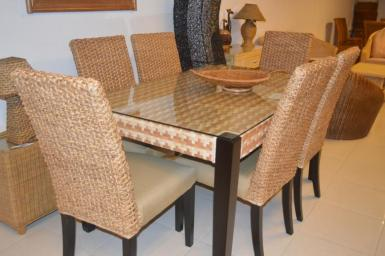 Seagrass Dining Set