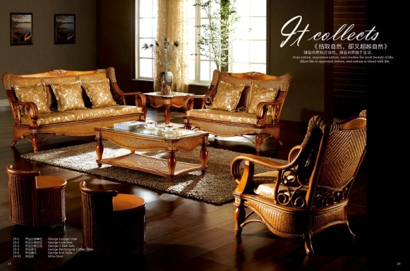 George Classic Sofa Set