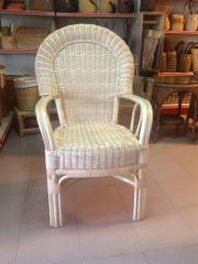 Rattan Arm Chair #01