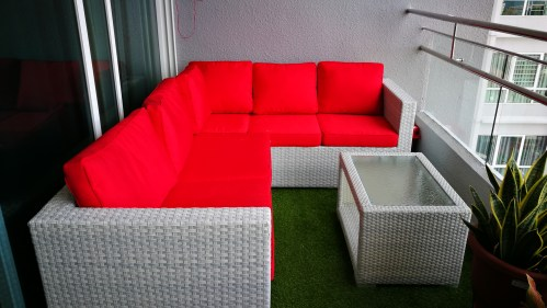 Central Park Outdoor Sofa Set