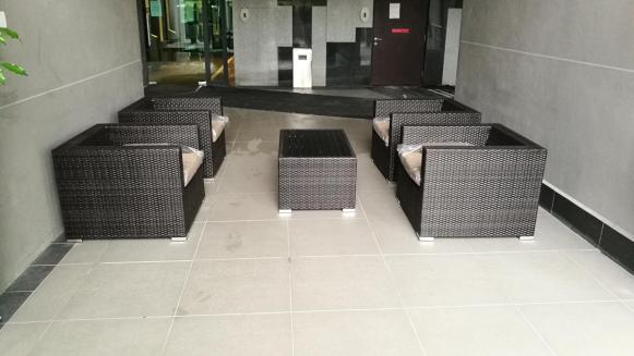 Outdoor sofa set @ marinox