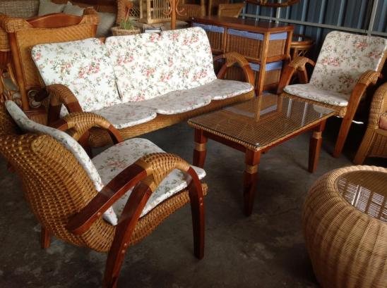 Santai Wicker Sofa Set