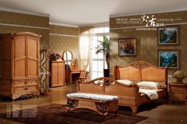 Newman Rattan Bedroom Suite