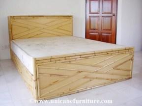 Rattan Bed 09