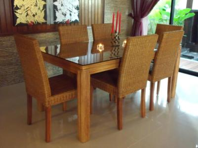 Rattan Dining Set 2699