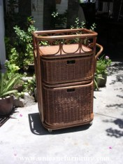 Rattan Kitchen Trolley
