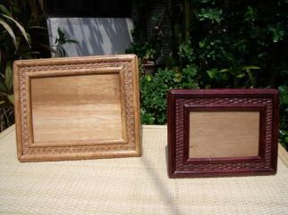 Rattan picture frame 1585