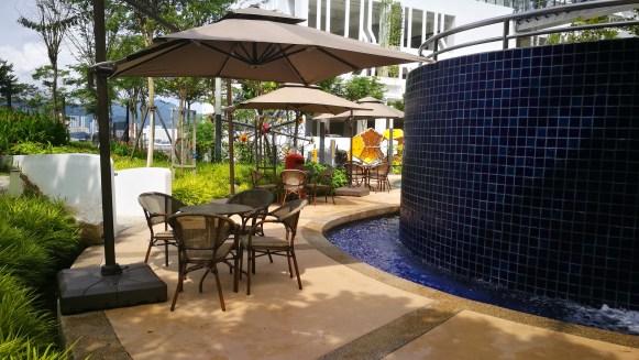 The Loft outdoor furniture parasol