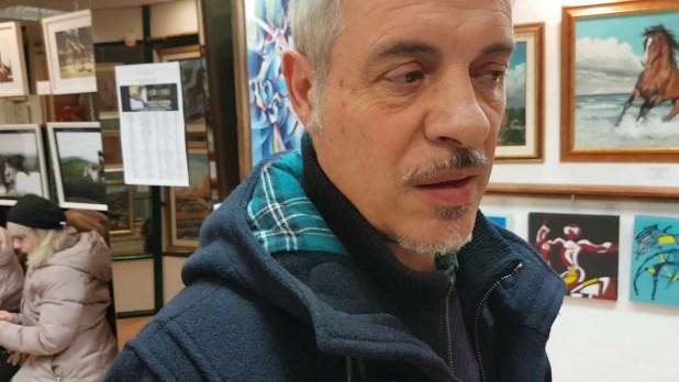 Francesco Argiolu, autore del murale originale
