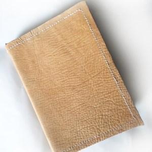 Travellers Notebook A6 hellbraun