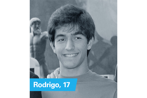 Rodrigo, 17, United States of America