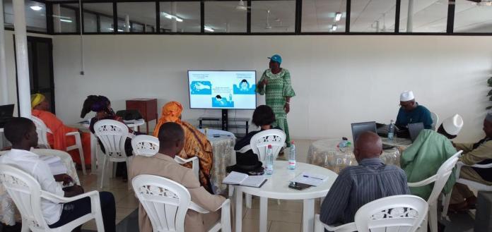Les journalistes en renforcement de capacités en communication en période de crise sanitaire en ce moment de lutte contre le coronavirus