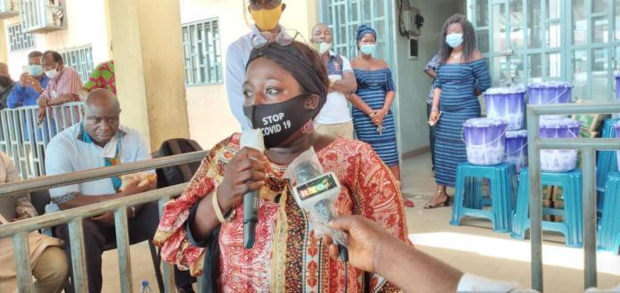 Mariame Kaba, porte-parole des bénéficiaires