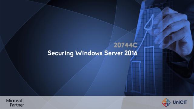 20744C - Securing Windows Server 2016