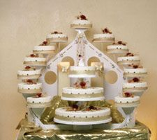 WEDDING CAKE STANDS   Stands   Big Stairs Wedding Cake Stand unico  Big Stairs Wedding Cake Stand