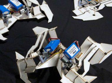 origami - robots imprimibles - unicornia dreams - origami robots