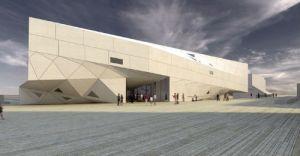 museo arte tel aviv - unicornia dreams - arquitectura origami- origami - diseño