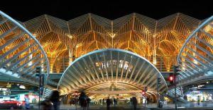 estacion oriente lisboa - unicornia dreams - arquitectura origami- origami - diseño
