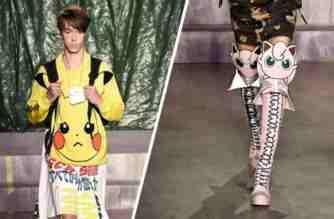 GCDS - Pokémon - moda italiana - unicornia dreams - pokemon go - Milán Fashion Week - pokemon boutique - fashion - fashionista