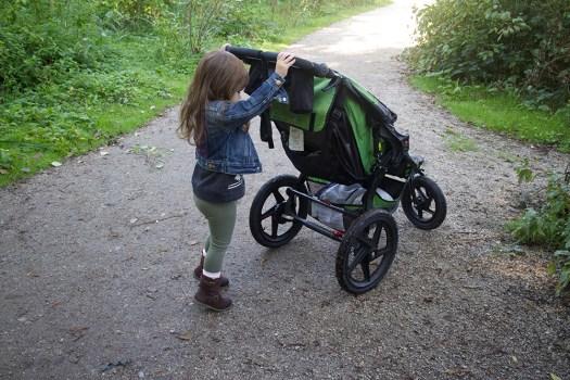06 gwen pushing her stroller
