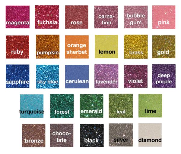 glitter colours 09 2015