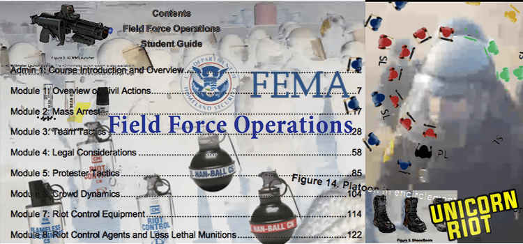 "Trump's FEMA to Train Local Police for ""Field Force"" Crackdowns; Inauguration NSSE Nears"