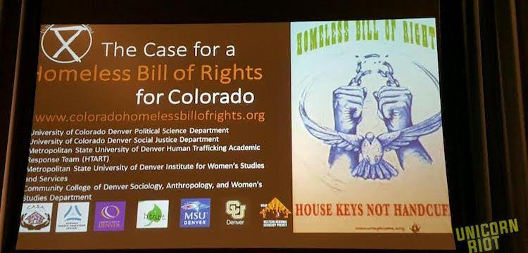 Third Push for Homeless Bill of Rights in Colorado Legislature
