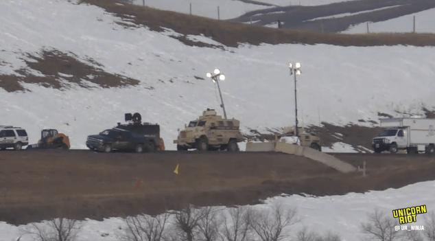 North Dakota Dismantles #NoDAPL Oceti Camp F23-hmv1