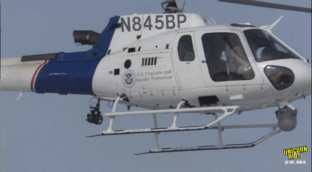 North Dakota Dismantles #NoDAPL Oceti Camp F23-hmv7-chopper-big