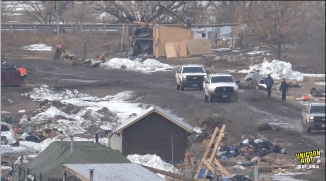 North Dakota Dismantles #NoDAPL Oceti Camp F23-rosebud1-early