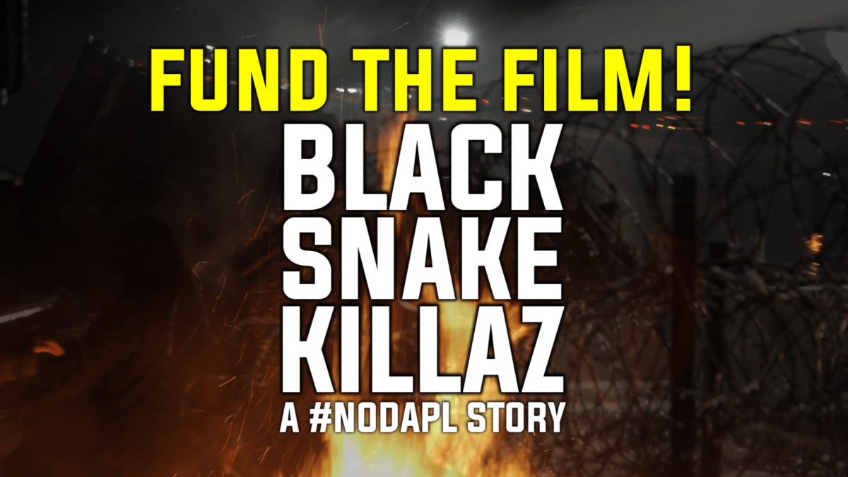Fund the film! Black Snake Killaz: A #NODAPLY Story