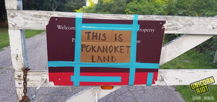 Pokanoket Nation Reclaims Stolen Sacred Land From Brown University