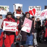 Hundreds March to Raise Awareness of Murdered Missing Indigenous Women