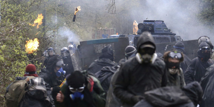 A Report From the Frontlines of the ZAD-NDDL Eviction Attempt