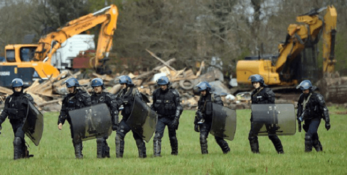 ZAD Gathers to Rebuild as More Police Attacks Loom