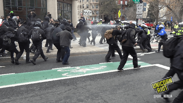Second Trump Inauguration Protest Trial Begins
