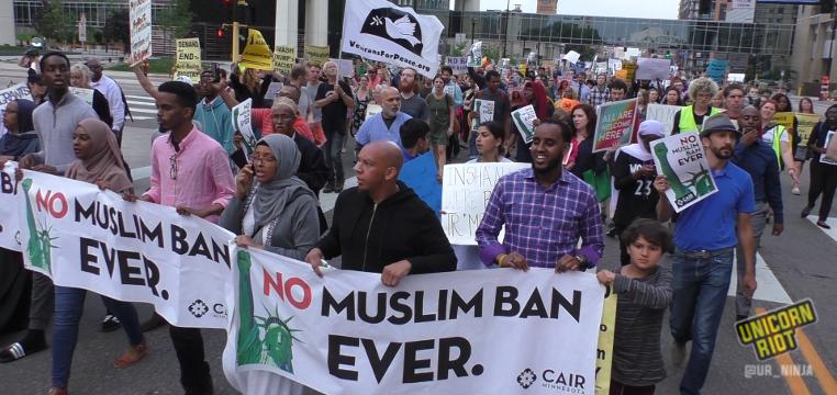No Muslim Ban March