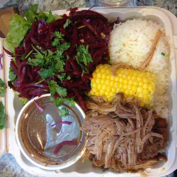 Paseo Rosted Caribbean plate in Seattle by Paseo