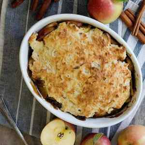 Caramel Apple Cobbler Recipe From Scratch