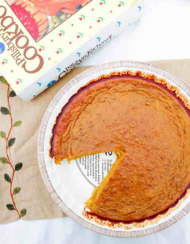 This Crustless No Butter Pumpkin Pie is a new treat for your Thanksgiving table!