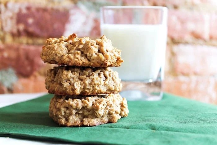 Oatmeal Walnut Cookies are chunky and yummy!