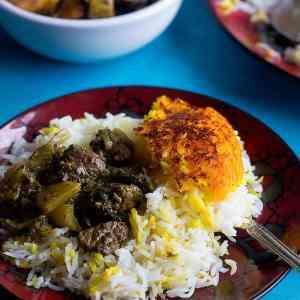 Persian Celery Stew – Khoresht Karafs