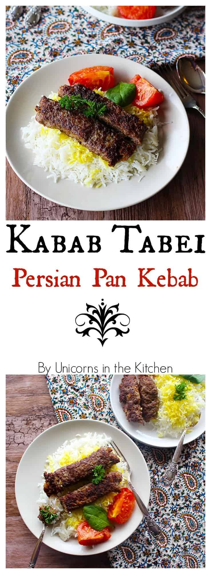 Kabab Tabei is a delicious dish that you can make if you like to have kebabs but you don't want to use a grill or you don't have one. It's simple and can be ready in an hour with a handful of ingredients!