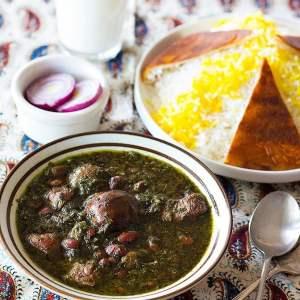 Ghormeh Sabzi – Persian Herb Stew