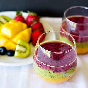Three Layered Smoothie