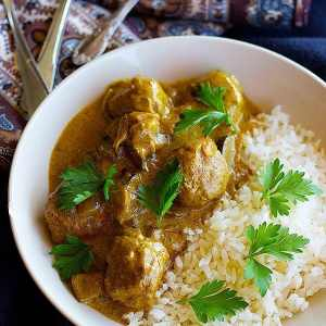 Turkey Meatball Curry (Indian Style)