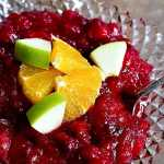 Forget about store-bought, this homemade cranberry apple sauce will be a new family tradition for you! It's tangy, sweet, and unbelievably easy!