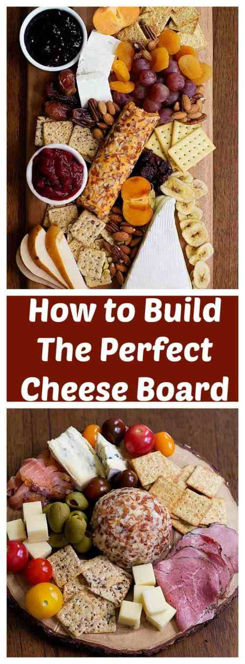 Learn How to Build the Perfect Cheese Board in two different themes that will rock your parties. These cheeseboards are great for holiday parties and gatherings!
