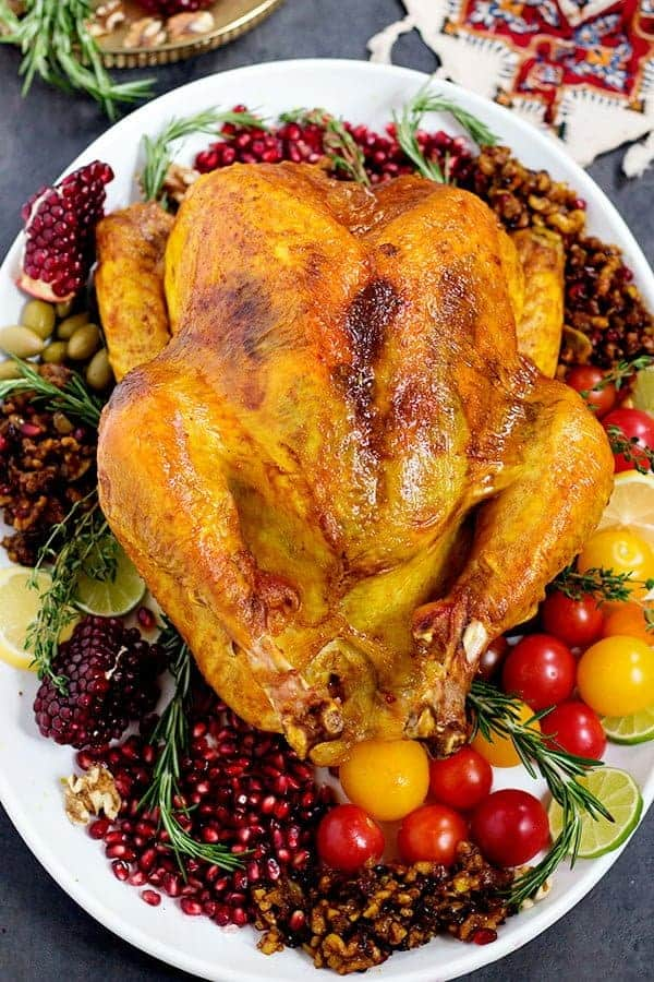 Use the best spices for turkey to make delicious Thanksgiving roasted turkey recipe with so much flavor.